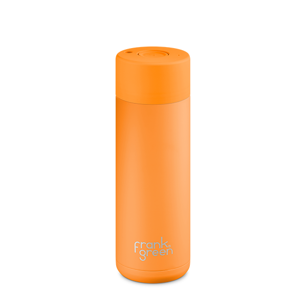 Ceramic Reusable Bottle Turmeric 20oz / 595 mL