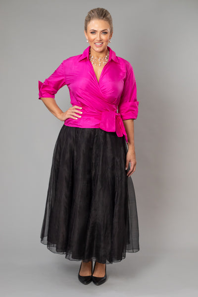 Bohemian Skirt - Black for the Mother of the Bride / Groom