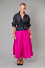 Cocktail Skirt - Fuschia for the Mother of the Bride / Groom