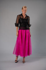 Bohemian Skirt - Fuchsia Pink for the Mother of the Bride / Groom