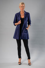 All Seasons Coat - Navy Blue
