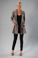 All Seasons Coat - Nickel