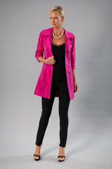All Seasons Coat - Fuchsia Pink