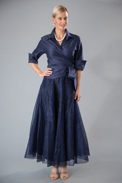 Bohemian Skirt - Navy for the Mother of the Bride / Groom