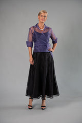 Pansy Skirt - Black for the Mother of the Bride / Groom