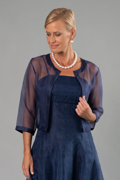 Cocktail Jacket - Navy Blue for the Mother of the Bride / Groom