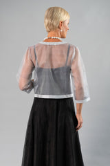 Cocktail Jacket - Silver for the Mother of the Bride / Groom
