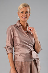 Classic Wrap Shirt - Coffee for the Mother of the Bride / Groom