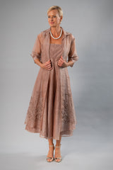 Organza Coat - Coffee for the Mother of the Bride / Groom