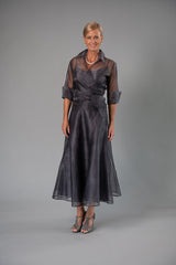 Pansy Skirt - Gunmetal for the Mother of the Bride / Groom