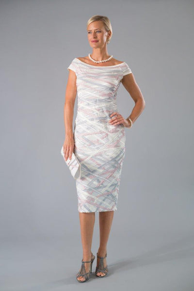 Ribbon Dress - Ivory for the Mother of the Bride / Groom