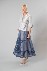 Lace Applique Skirt for the Mother of the Bride / Groom