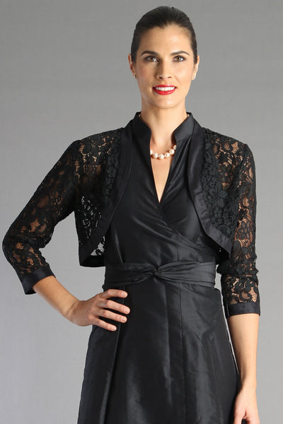 Lace Bolero - Black for the Mother of the Bride / Groom