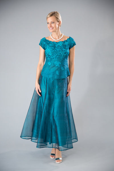 Reminiscence Top - Teal - For the Mother of the Bride / Groom
