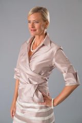 Classic Wrap Shirt - Shell for the Mother of the Bride / Groom