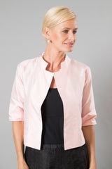 Silk Jacket - Soft Pink