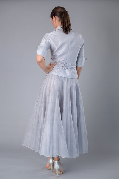 Bohemian Skirt - Silver for the Mother of the Bride / Groom