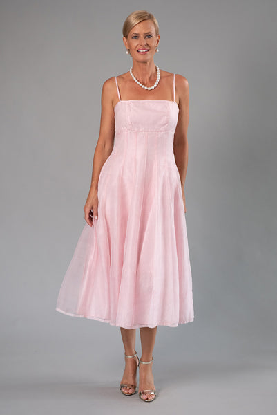 Tea Length Dress - Soft Pink for the Mother of the Bride / Groom