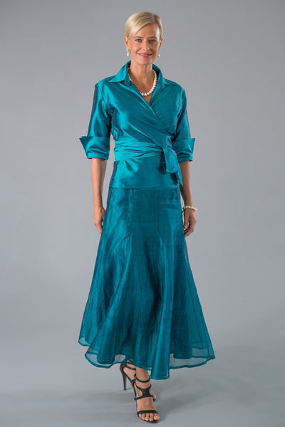 Pansy Skirt - Teal for the Mother of the Bride / Groom