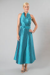 Wrap Dress - Teal for the Mother of the Bride / Groom