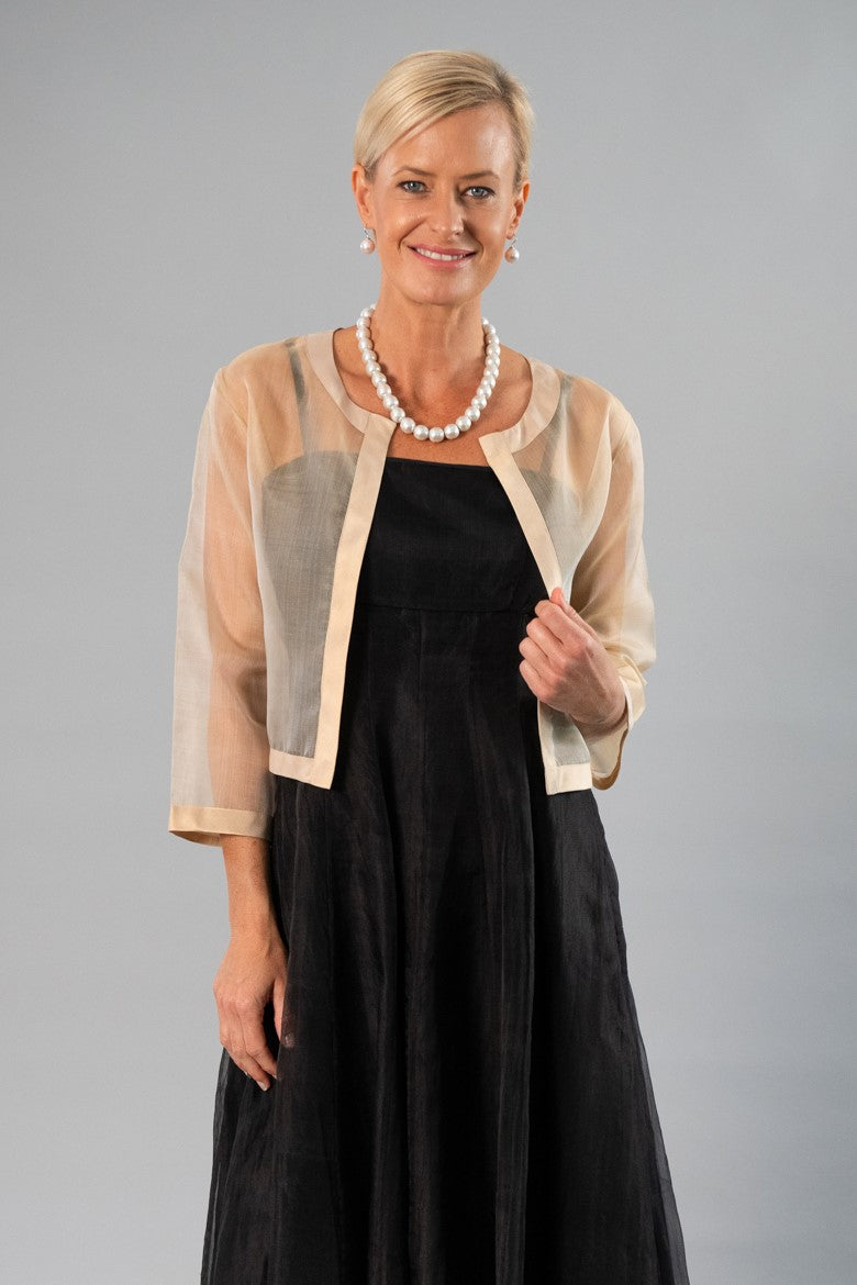 Cocktail Jacket - Gold for the Mother of the Bride / Groom