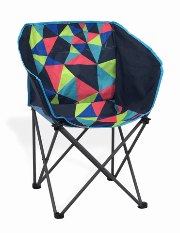 Electro Club Foldable Camping Chair Portal Outdoor