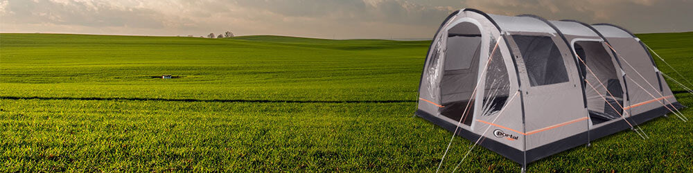 Image showing Portal Outdoor Gamma 5 Tunnel Tent on Outdoor Landscape