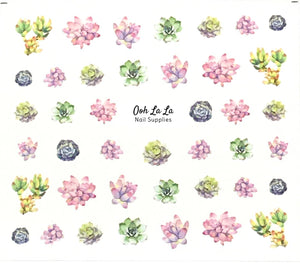 Succulent Decal