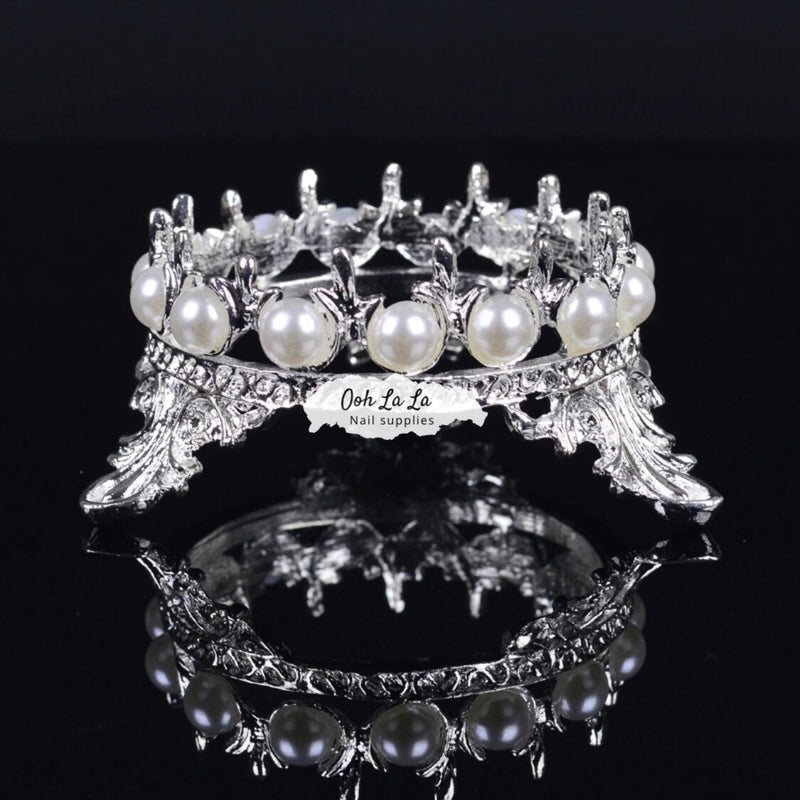Crown Nail Brush Holder
