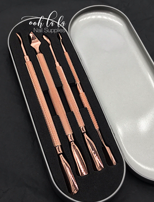Cuticle pusher set - 4pc