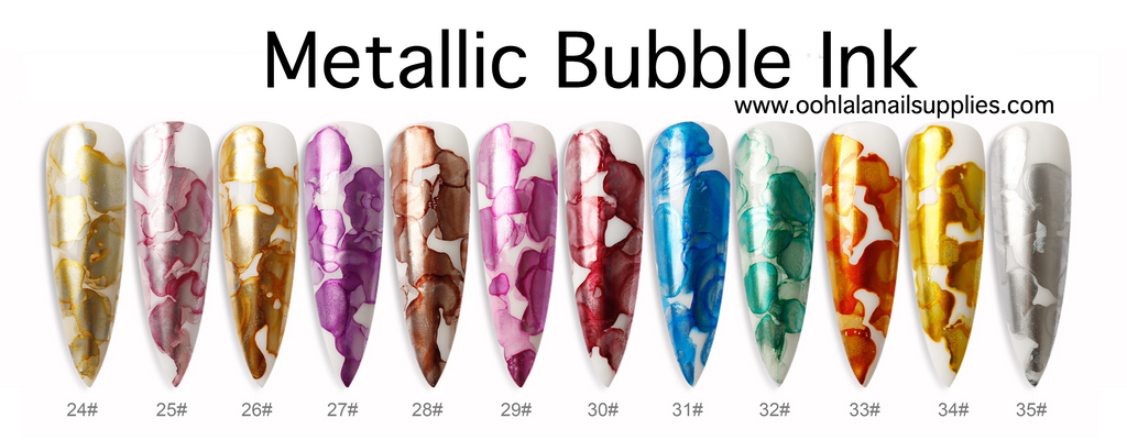 Metallic Bubble Ink