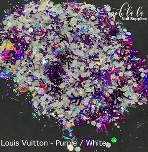 Louis Vuitton - Purple/ White