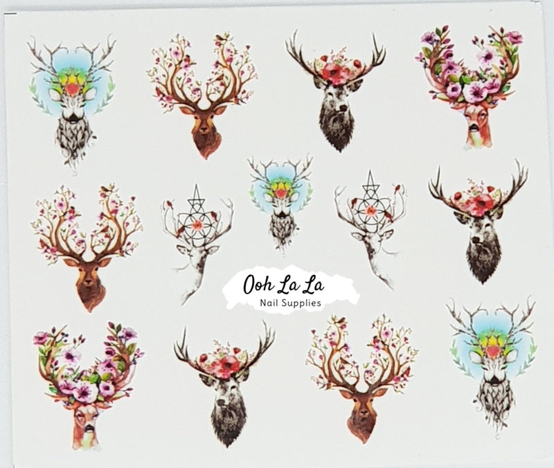 Boho Deer Decal
