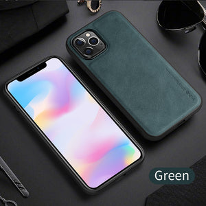 Business leather phone case