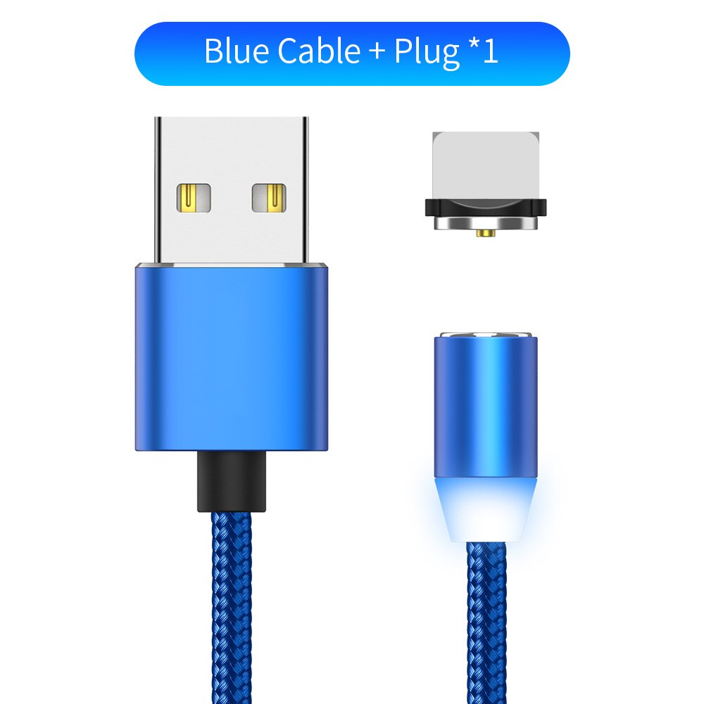 YBD 1m magnetic LED charging cable