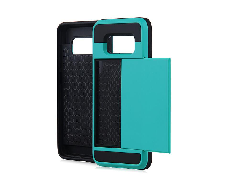 Sliding Card Holder Phone Case (Samsung)