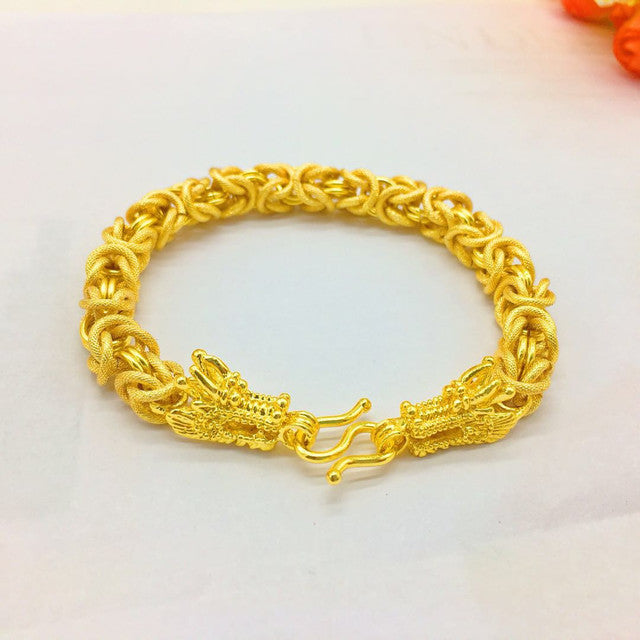 Men's 24K Gold Plated Bracelet