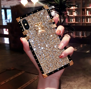 Diamond flash phone case