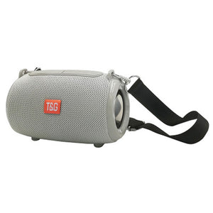 Bluetooth speaker portable card cloth outdoor strap
