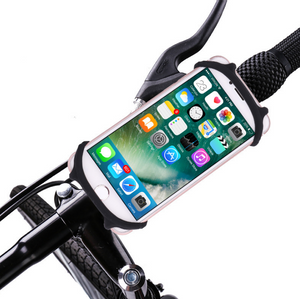 Silicone bicycle mobile phone bracket motorcycle shockproof anti-shake car bracket