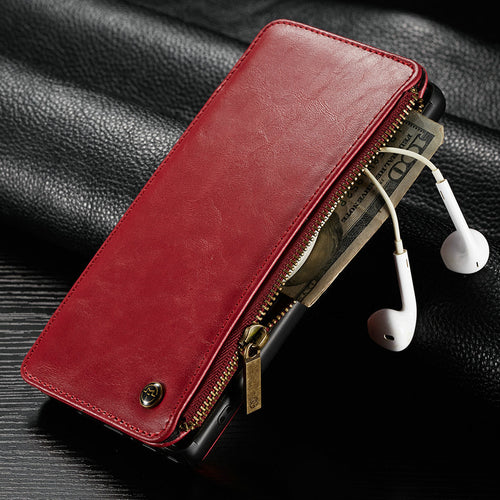 Leather case flip phone case