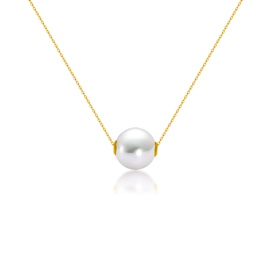 Pearl Clavicle Necklace