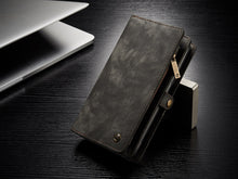 Vintage split leather phone case