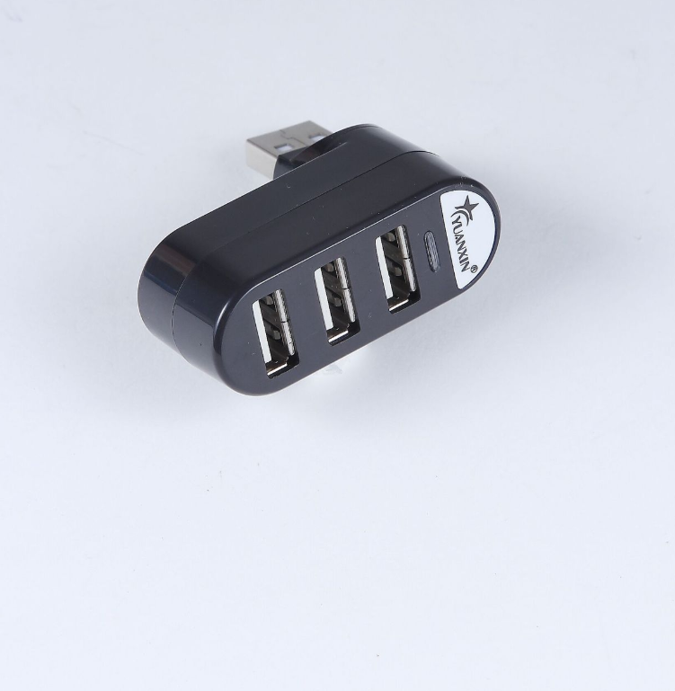 USB splitter usb hub splitter multi-interface spin color 2.0 high speed expansion hub HUB