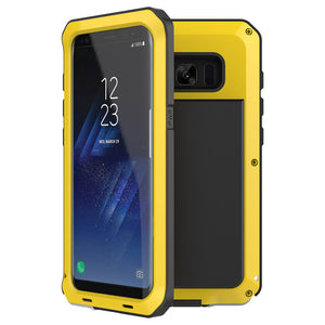 Metal rugged phone case