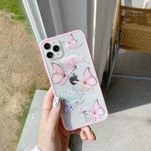 Butterfly laser phone case