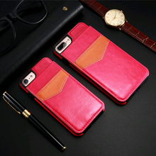 iPhone S7 multi-function card holder phone case