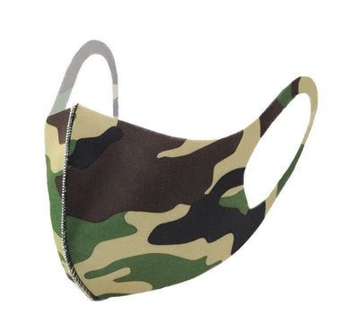 Camouflage Print Fashion Face Mask - PPE32