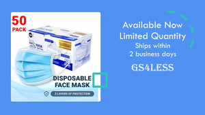 Uni Three-Layer High Density Filter Disposable Face Masks