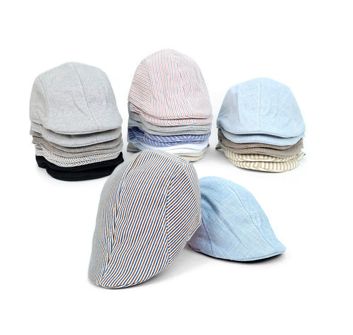 Feraricci Men's Golf Patterned Flat Ivy Hats